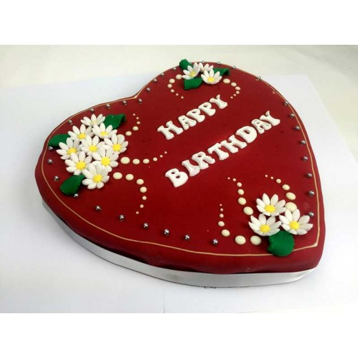 Herztorte Design Birthday