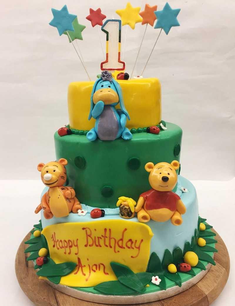Winie Puhh Geburtstagstorte online bestellen bei Creabeck