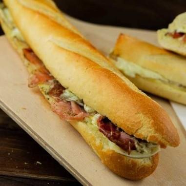 Hot Sandwich Rohschinken