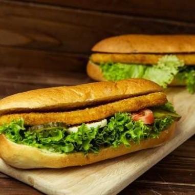 Pouletschnitzel Sandwich (CH)