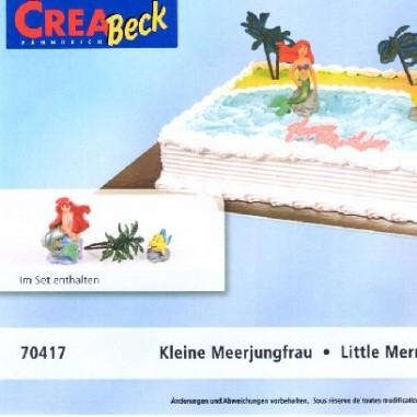 Motiv - Torte Die kleine Meerjungfrau