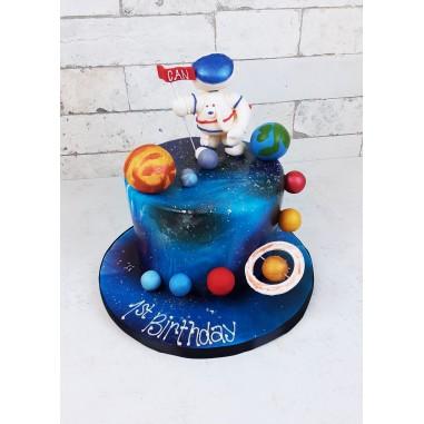 Astronauten Torte