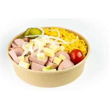 Wurst Käse Salat