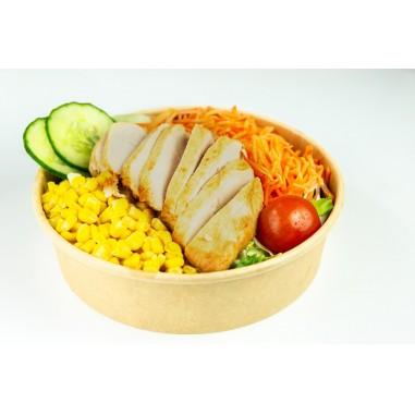 Pouletstreifen Salat