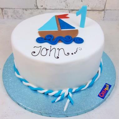 Segelbötchen Torte