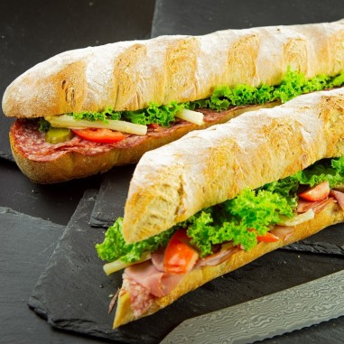 Brot am Meter gefüllt (80cm)