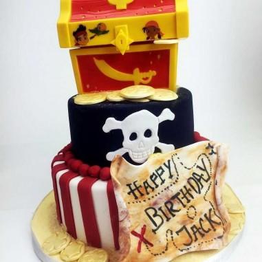 Sparkassen Torte Piratenschatz