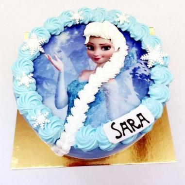Foto Torte rund Elsa