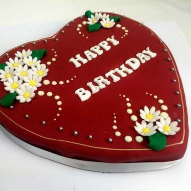 Herztorte Design Birthday