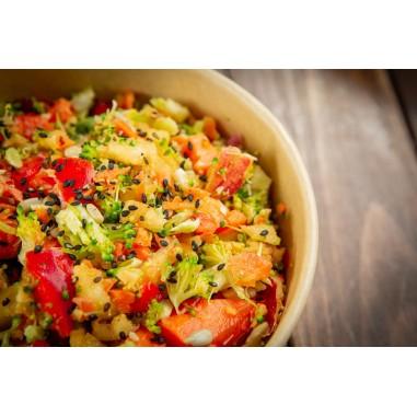 Salat Regenbogen