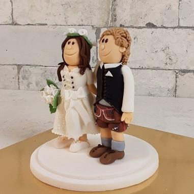 Topper handgemacht Brautpaar