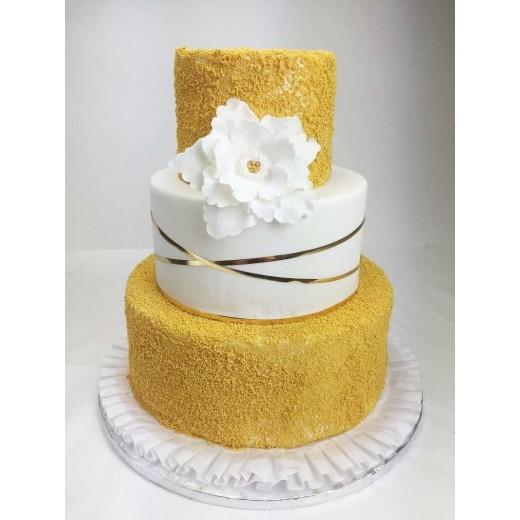 Hochzeitstorte golden time