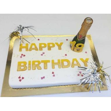 Champagner Torte