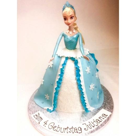 Elsa Puppen Torte