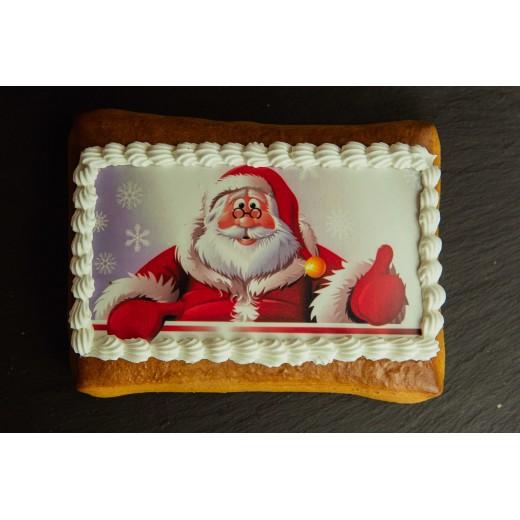 Lebkuchen mit Print 100mm x 80mm
