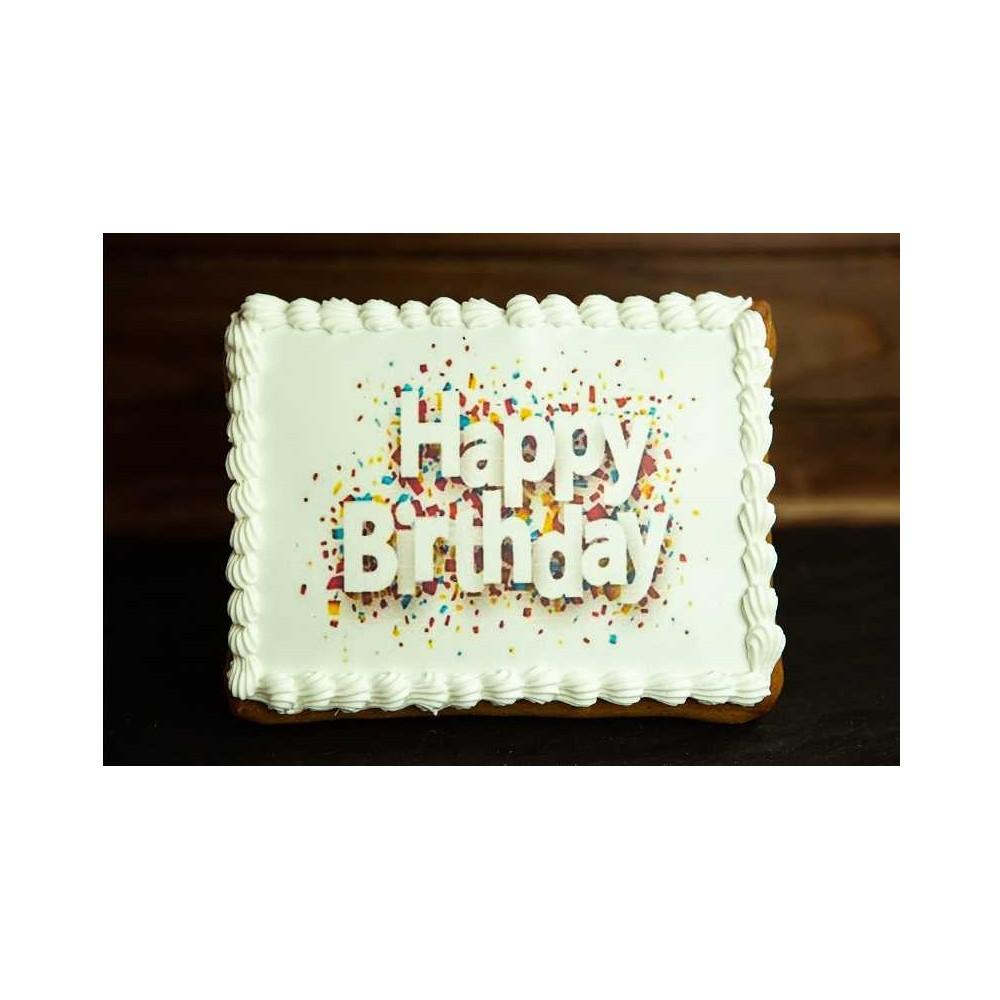 Lebkuchen mit Print 165mm x 125mm
