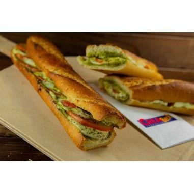 Hot Sandwich Tomaten-Mozzarella
