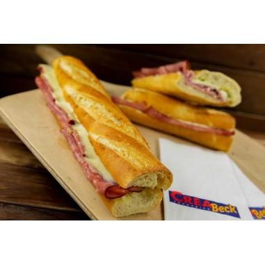 Hot Sandwich Schinken