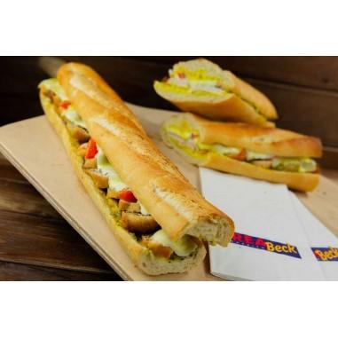 Hot Sandwich Poulet-Curry